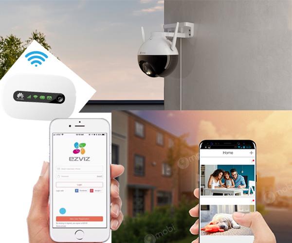 Camera giám sát wifi