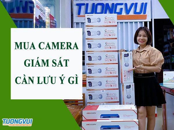 Lưu ý chọn mua camera giám sát
